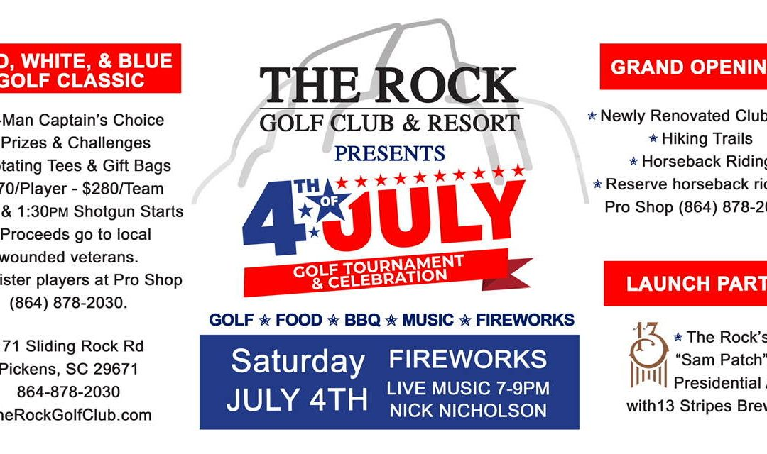 July 4th at The Rock